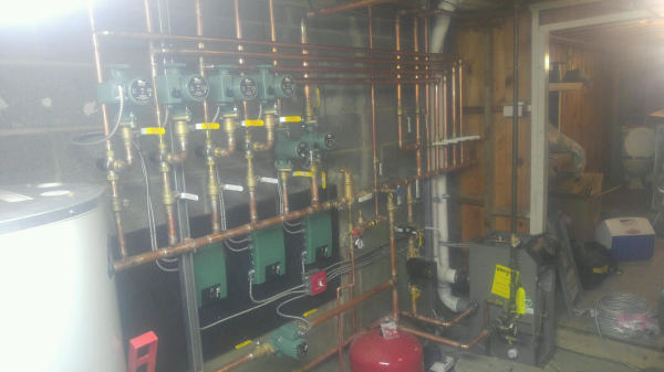 High Efficiency Infloor Heating Systems/Boilers